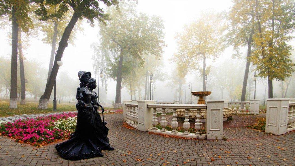 Тюмень, Александровский сад