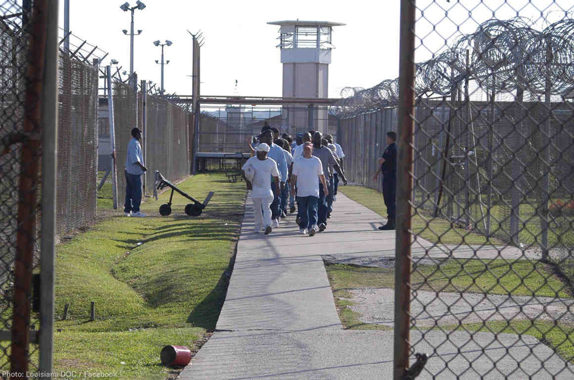 тюрьма Ангола, США
