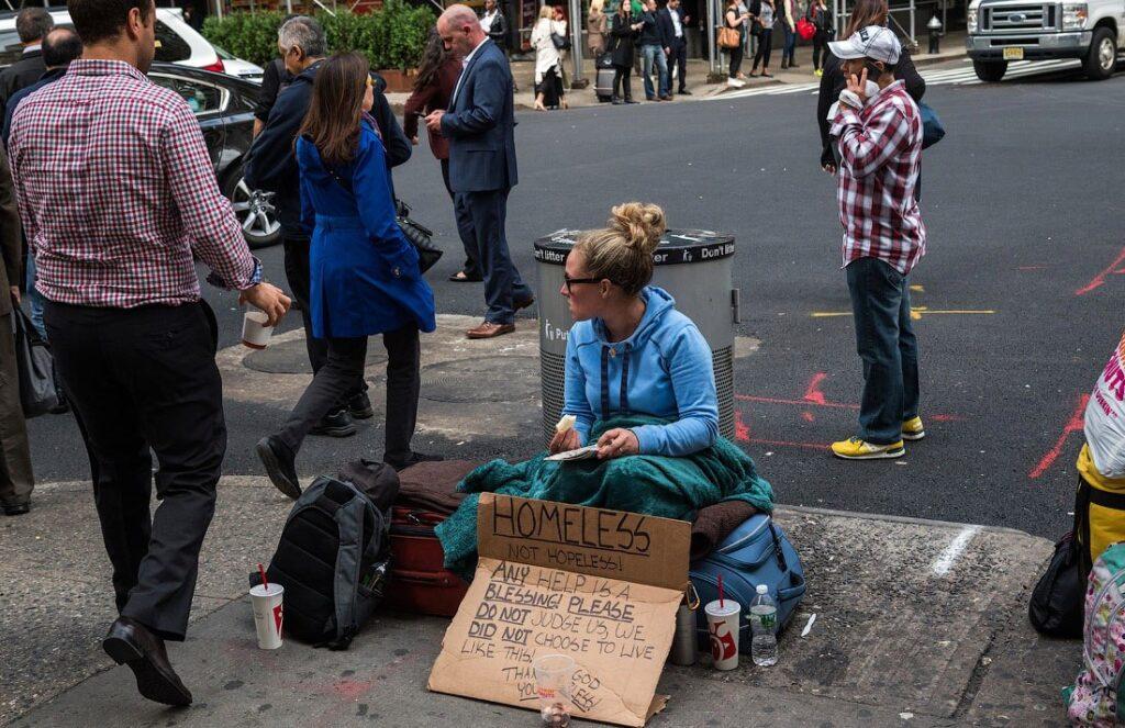 бездомные сша