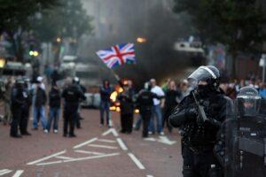 проблемы в британии
